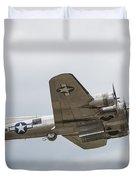 The B-17 Bomber Duvet Cover