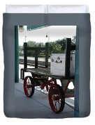 The Baggage Cart And Truck Duvet Cover