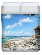 The Bahamas Islands Duvet Cover