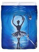 The Ballerina Dance Duvet Cover