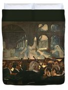 The Ballet Scene From Meyerbeer's Opera Robert Le Diable Duvet Cover by Edgar Degas