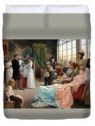 The Baptism Duvet Cover