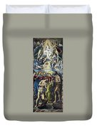 The Baptism Of Christ Duvet Cover
