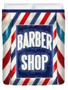 The Barber Shop Duvet Cover