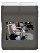 The Barber's Chairs Duvet Cover