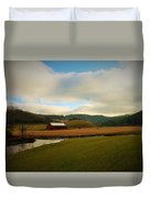 The Barn On Green Acres Duvet Cover