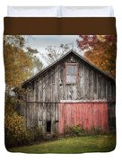 The Barn With The Red Door Duvet Cover