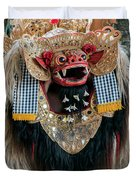 The Barong Duvet Cover