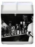 The Bartender Is Back - Prohibition Ends Dec 1933 Duvet Cover