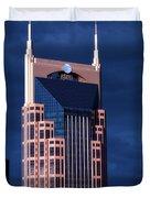The Batman Building - Nashville Duvet Cover