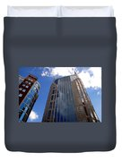 The Batman Building Nashville Tn Duvet Cover
