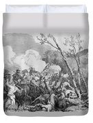 The Battle Of Bull Run Duvet Cover by War Is Hell Store