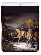 The Battle Of Hohenlinden Duvet Cover