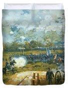 The Battle Of Kenesaw Mountain Duvet Cover