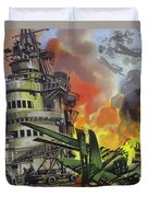The Battle Of Midway Duvet Cover