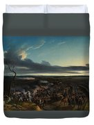 The Battle Of Montmirail Duvet Cover