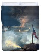 The Battle Of Port Hudson - Civil War Duvet Cover