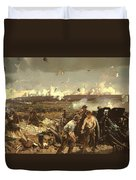 The Battle Of Vilmy Ridge Duvet Cover