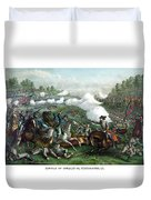 The Battle Of Winchester Duvet Cover
