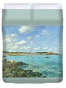 The Bay Of Douarnenez Duvet Cover