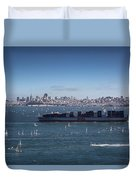 The Bay Duvet Cover
