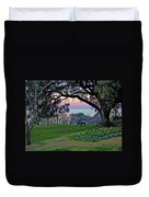 The Bay View Bench Duvet Cover