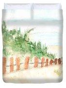 The Beach Duvet Cover