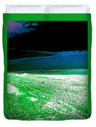 The Beach In Colors  Duvet Cover
