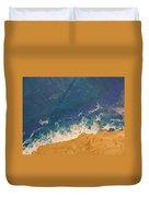 The Beach - Tac Duvet Cover