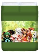 The Bears From The Yorkshire Moor 02 Duvet Cover