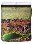 The Bear's Tooth Highway Summit Duvet Cover