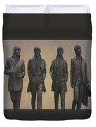 The Beatles N F Duvet Cover