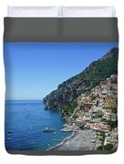 The Beautiful And Famous Amalfi Coast Duvet Cover