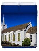 The Beautiful Bodega Church St. Teresas Of Avila  Duvet Cover