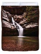 The Beautiful Cedar Falls Duvet Cover