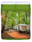 The Beautiful Half Dome Village Duvet Cover