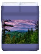 The Beautiful Olympic Mountains At Dawn - Olympic National Park, Washington Duvet Cover
