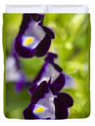 What's Wrong With Being A Pansy? Duvet Cover