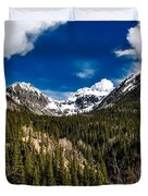 The Beautiful San Juan Mountains Duvet Cover