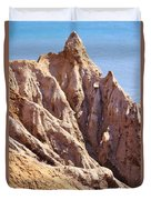 The Beauty In Erosion Duvet Cover
