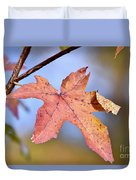 The Beauty Of Fall Duvet Cover