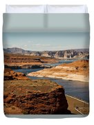 The Beauty Of Powell  Duvet Cover