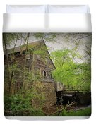 The Beauty Of The West Point On The Eno Grist Mill - Durham, N.c. Duvet Cover