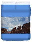 The Beauty Of Utah Arches Duvet Cover