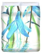 The Beauty Of Watery Reflection Duvet Cover