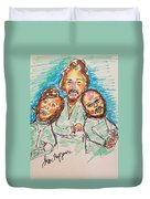 The Bee Gees Duvet Cover