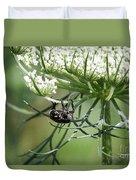 The Beetle Acrobat Duvet Cover