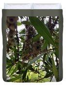 The Beginnings Of A Bushtit Nest Duvet Cover