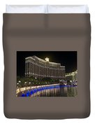The Belagio A Night View Duvet Cover