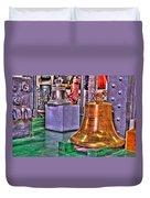 The Bell Tolls Duvet Cover